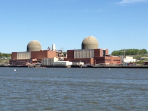 Indian Point Nuclear power plant on the banks of the Hudson