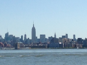 Skyline from New York Harbor