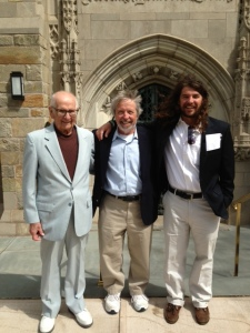 Three generations of Koningisor men
