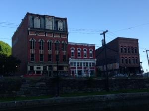 More buildings along Main Street