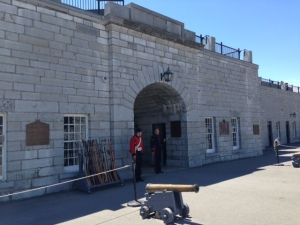Built in 1832-1837, Fort Henry was the main fortification to prevent the Americans from shutting off Canada's supply routes on the St. Lawrence and Rideau Canal  between Montreal and Quebec City to the east and Upper Canada (now Ontario) to the west