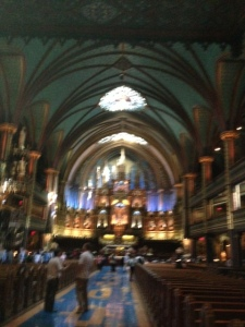 The spectacular inside of the Notre Dame Cathedral - a must see