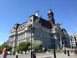 One of the seemingly endless old magnificent historic buildings in Montreal