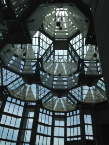 The atrium of the Gallery of Canada in downtown Ottawa