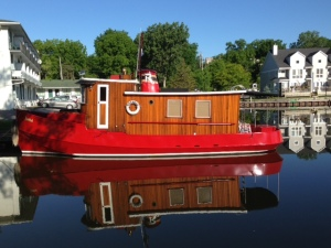 An interesting boat in Picton Harbor