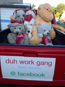 I think I picked the wrong work gang...