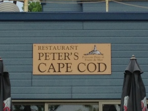 Even in a relatively remote village in Quebec, Cape Cod is a draw - and a marketing tool -