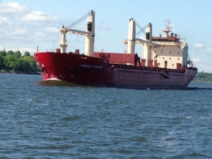 Another ship on the St. Lawrence - I could bore you with dozens, but I'll try to restrain myself