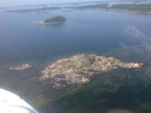 Also from the air -