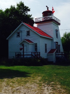Janet Point Light - now automated, it is occupied in the summer by the fourth generation of the Foster family, who gives tours of the lighthouse