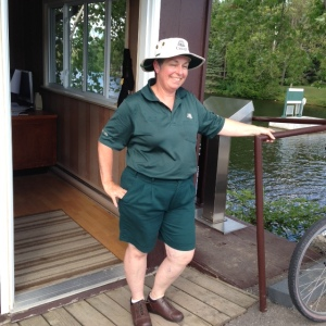 Jennifer, our favorite bridge attendant -