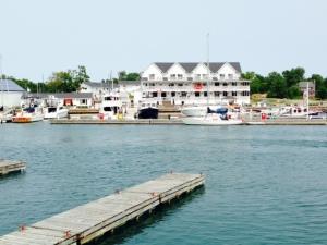 The Sportsman's Inn, taken from across the channel