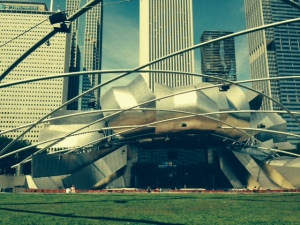 The concert pavilion - Chicago's version of the Boston's Hatch Shell