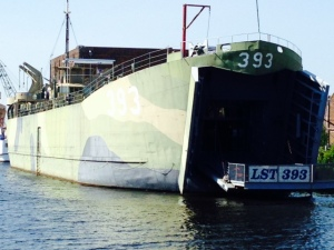 LST 393, which was a very interesting tour