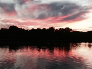 Another sunset along the Tennessee River -