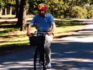 I hope I can still do this at 90 - we figured that it was probably 30-40 years since my Dad rode a bicycle -
