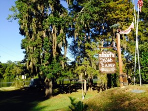 Bobby's Fish Camp - notice the Spanish Moss hanging from the trees - quite beautiful