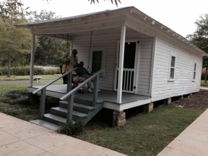 This is the house where Elvis was born and his Dad lost as a result of his stint in prison