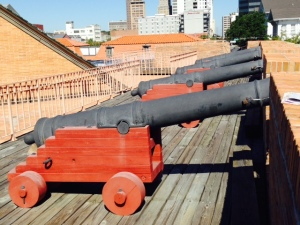 A replica of a portion of the 1723 fort is located in the center of the city, and depicts much of the early history of Mobile