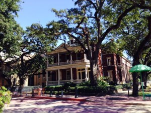 There are several walking tours that pass by a multitude of historic homes in the city