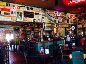 Wintzell's Oyster House, a famous oyster bar and restaurant on Daphne Street