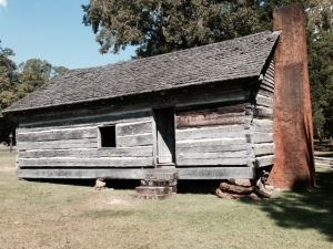 The church at Shiloh, a critical place in the see-saw battle which was alternately held by the Confederate and Union forces