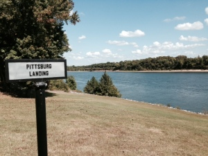 Pittsburg Landing on the Tennessee River, where the Union forces landed their troops to try to penetrate deep into the south. In the Shiloh battle, the Confederate forces tried to capture the Landing to prevent reinforcements for the Union forces from crossing the river, but failed to reach the river