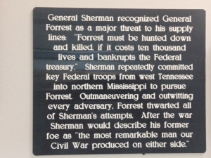 Apparently Confederate General Forrest was quite a soldier