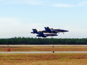 The Blue Angels fly F/A-18's. Nothing I can add to the next series of pictures -