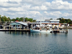 Pete's Pier, the marina where we stayed at King's Bay, at the end of Crystal River.