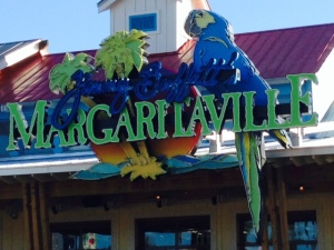 "One of the Jimmy Buffet ""Margaritaville"" restaurants is on the waterfront in Destin"
