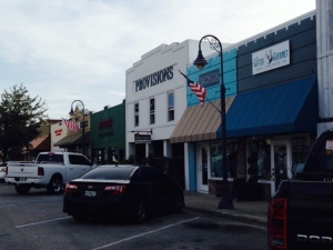 The main street in downtown Port St. Joe