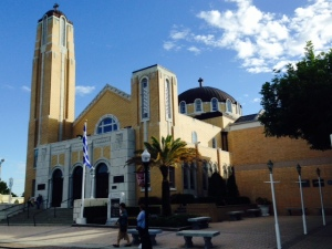 No Greek community would be complete without an iconic Greek Orthodox church