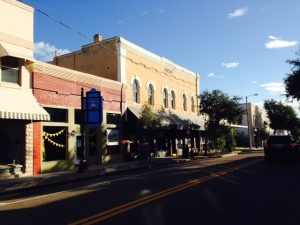 In addition to the waterfront along the harbor that is lined with Greek restaurants and sponge & gift shops, there is a historic downtown in Tarpon Springs that is quite interesting with architecture dating back to the late 1800's and early 1900's