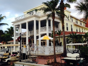 The enormous Gasparilla Inn & Club was built in 1911 and has been beautifully restored to its original opulence when it was built to cater to wealthy visitors from the north who came to Boca Grande for the world-class fishing and the warm winter climate.