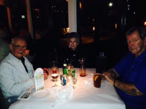 Bob & Mary Conley and my Dad at Matanzas Inn on Fort Myers Beach