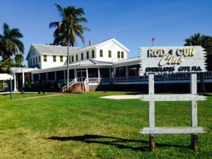 The Rod & Gun Club in Everglade City