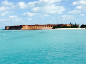 Fort Jefferson on the Dry Tortugas, as seen from the ferry