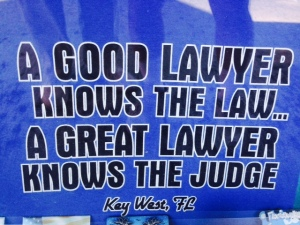 One for my two lawyer daughters and their lawyer friends -