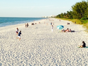 As one might expect, the beach in Naples is spectacular, with white, sugar-like sand.