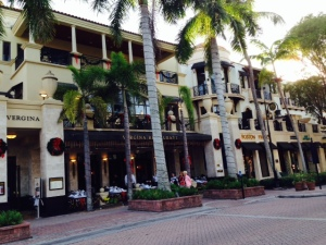 Fifth Avenue, the main retain area in downtown Naples, is pleasant, well-designed and beautiful - and expensive