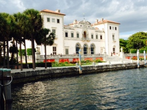 Built from 1914-1923 by James Deering, founder of International Harvester, the Vizcaya Museum and Gardens rivals the mansions of Newport. It was built to feel like a 1700's Italian villa, and the gardens cover acres with plantings and coral walls, arches, and sculptures.