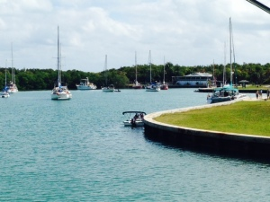 Non Name Harbor on Key Biscayne - a wonderful anchorage!