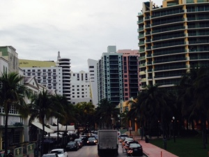 Ocean Avenue on Miami Beach