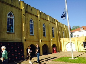 The armory in downtown Beaufort, built in 1798