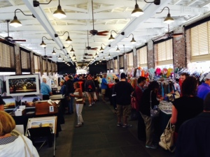 The center of activity in the historic district is the series on market buildings where arts, crafts, food, and interesting sundries are sold.