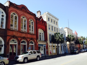 A typical street downtown Charleston, as are the next few pictures.