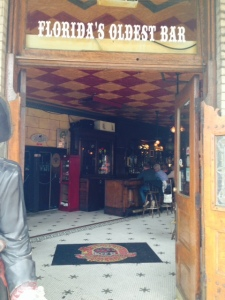 Reportedly the oldest bar in Florida is in Fernandina Beach -