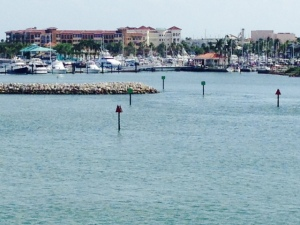 The channel into Fort Pierce was well-marked, which I appreciated, being alone on board. The municipal marina has a fun restaurant/tiki bar on the waterfront and a pleasant downtown a short walk away.
