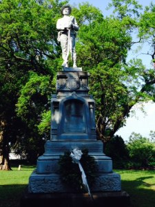 This is a monument in the cemetery in Georgetown, honoring Confederate soldiers.